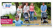 BROOKS DRUGS ALL CHILDRENS KIDS AND BABY GRACO SALE