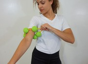 Improve your circulation through massage ball available at Arcroller