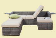All Weather Outdoor/Indoor Wicker Sofa on Sale at Gooddegg