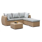 Easter Sunday Sale – Wicker 4 Piece Sofa Set