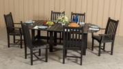 Easter Sunday Sale,  Dining Table with 6 side chairs
