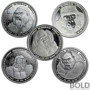 Republic of Congo Gorilla (2015-2019) Coin Set
