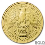 2019 Great Britain Queen's Beasts (The Falcon) Gold Coin-1/4 oz